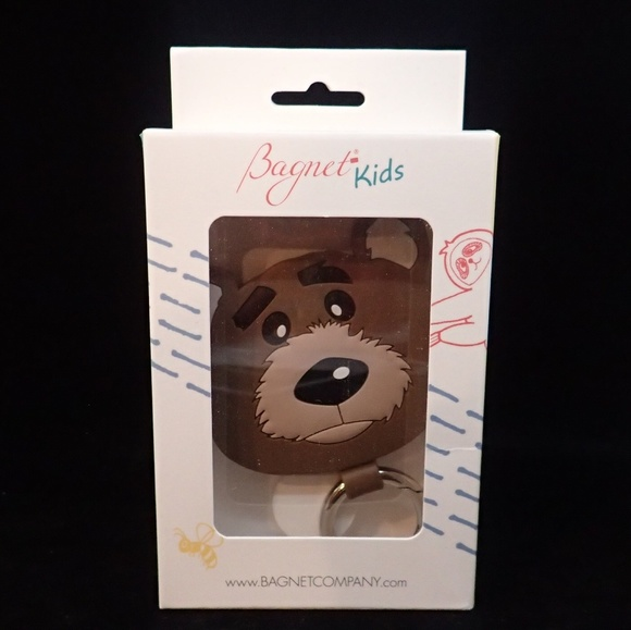Bagnet Other - Bagnet Kids Bear Keychain - NWT